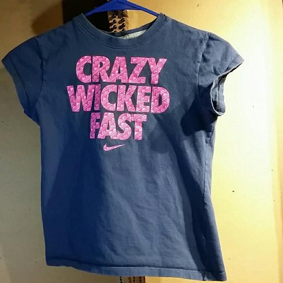 NWT Mens Nike M Dri-Fit Dark Gray//Neon Red Pink FASTER EVERY DAY Shirt Medium